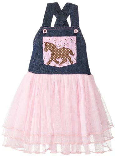 Cowgirl Overall Dress,Size: 12-18 MONTHS
