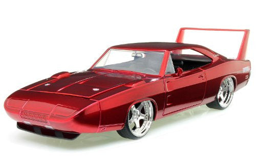Jada Toys Bigtime Muscle - Dodge Charger Daytona Hard Top (1969, 1/24 scale diecast model car, Asstd.)