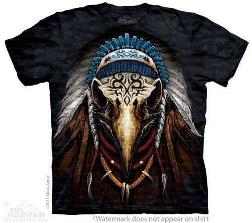 Eagle Spirit Chief, Loose Shirt - Black Adult XX-Large