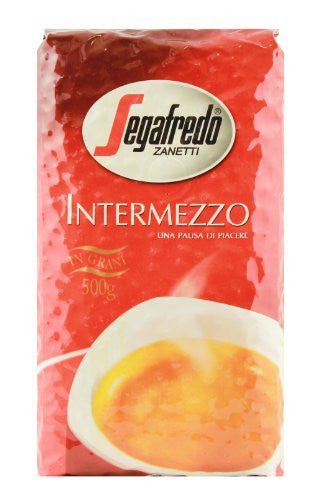 Segafredo Intermezzo Whole Beans Coffee 500g