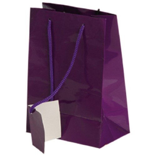SMALL GIFT BAGS/PURPLE - 12pcs