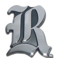 "Rice University Chrome Auto Emblem (""R"")"