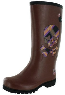 Nomad Women's Puddles Rain Boot,10 B(M) US,Brown