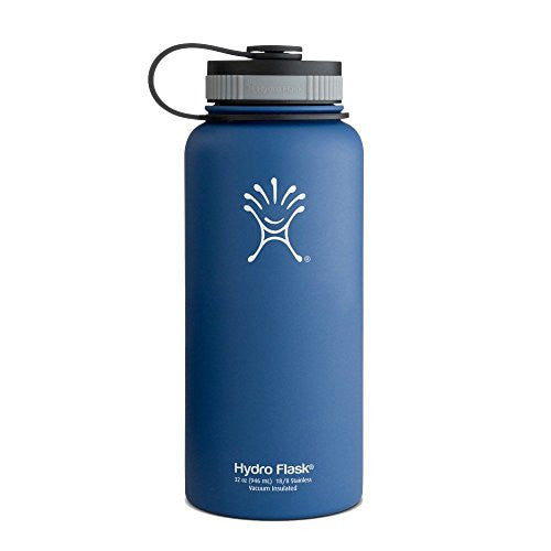Hydro Flask 32 Oz. Wide Mouth Water Bottle, Everest Blue