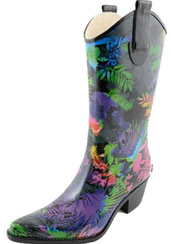 Rodeo Women's Rain Boots - Jungle (Size 7)