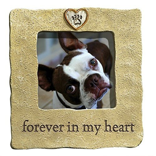 """Forever in My Heart"" Photo Frame. Holds 3"" x 3"" photo"