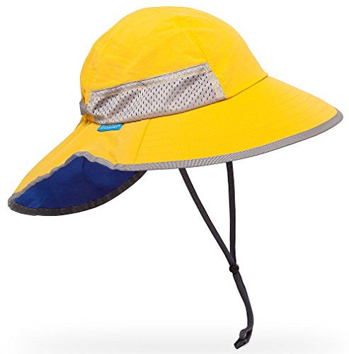 Kids Play Hat, Tangerine/Caribbean, Youth