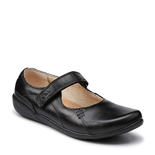 Uniform Shoes - Genius Words (Junior) Black - 3 W