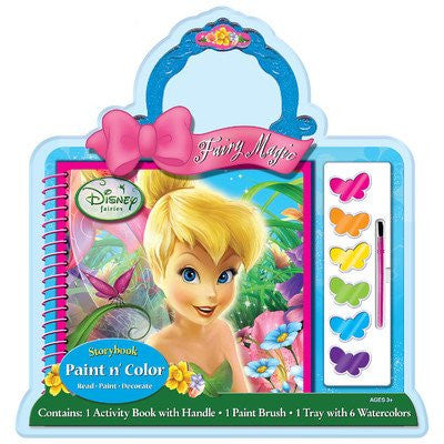 Disney Fairies Paint and Color