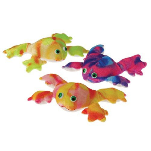 TIE DYED FROGS - 12pcs