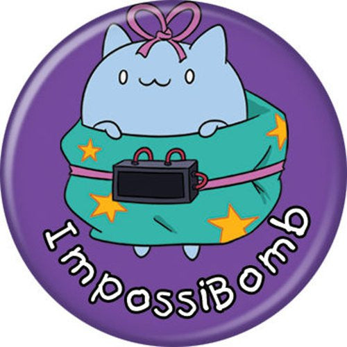 Catbug ImpossiBomb - BUTTONS 1 1/4 in. ROUND