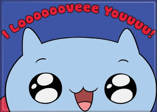 Catbug I looooooveeee Youuuuu - PHOTO MAGNET 2 1/2 in. x 3 1/2 in.