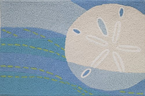 "Sand Dollar and Waves 21"" x 33"""