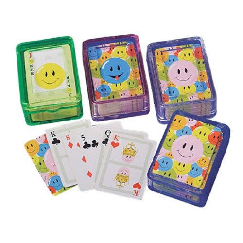 MINI SMILE PLAYING CARDS