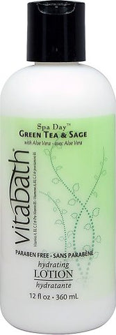 VB Fragrance Collection - Green Tea & Sage Hydrating Body Lotion, 12 oz
