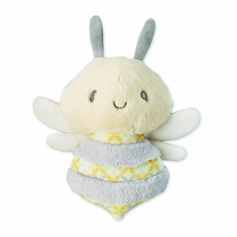 Nat and Jules Rattle Plush Toy, Zippi Bee Flatso