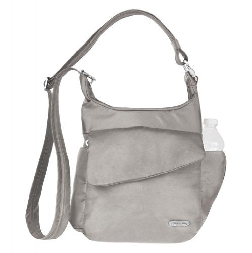 Anti-Theft Classic Messenger Bag - Stone