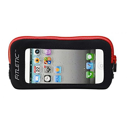 iPhone Add-On Pouch Black/Red
