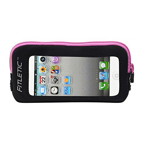 iPhone Add-On Pouch Black/Pink