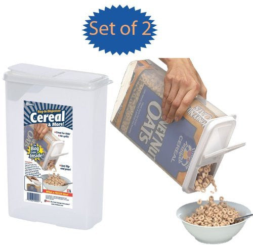 Bag-In Dispenser for Cereal, Snacks, More!
