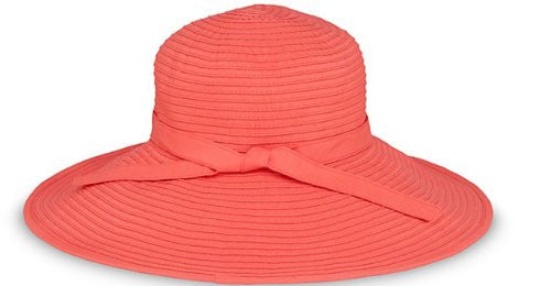 Beach Hat,One Size,Grapefruit