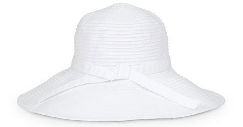 Beach Hat, White, One size