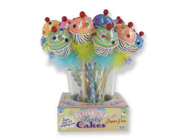 Sweet Shop Tasty Cakes Sequin Pens