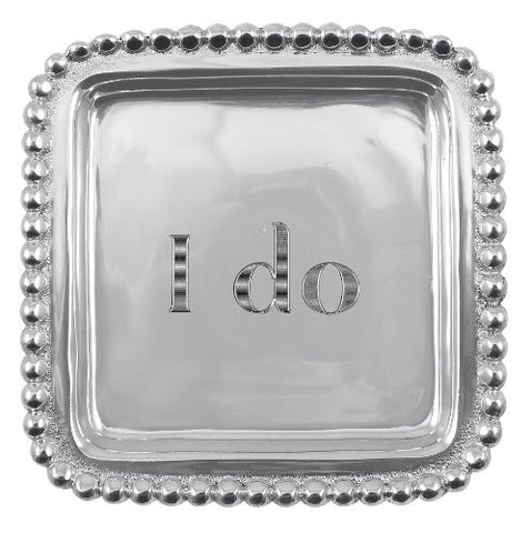 - I do-  Beaded Square Tray