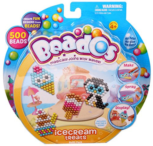 Beados Theme Pack, Glitter - Ice Cream Treats