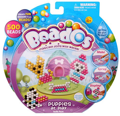 Beados Theme Pack, Glitter - Puppies At Play