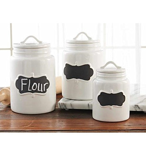 Chalkboard Canisters (Set Of 3)