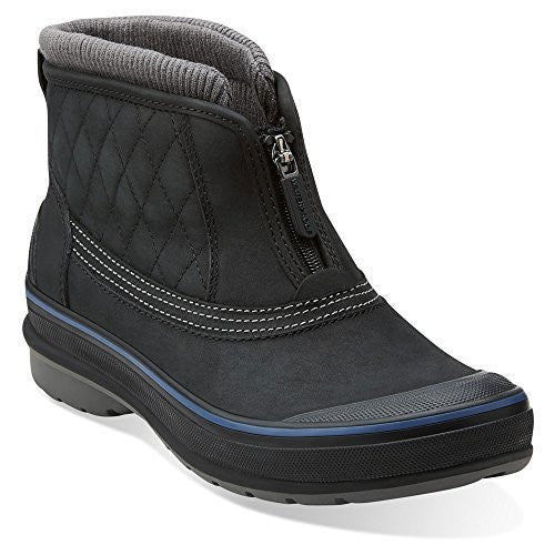 MUCKERS SLOPE - Black Leather - M 8.5