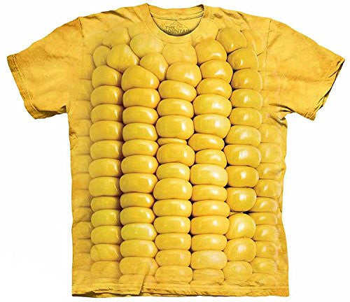 Corn On The Cob, Loose Shirt - Yellow Adult XX-Large