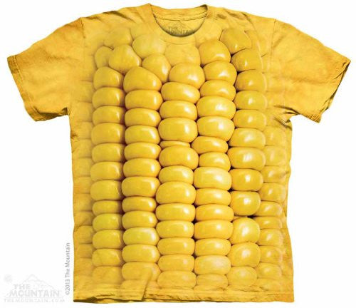 Corn On The Cob, Loose Shirt - Yellow Adult XXXX-Large