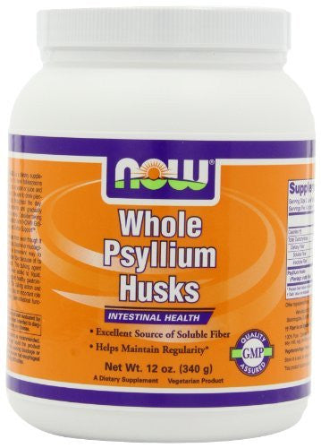 Psyllium Husk Whole, Bag - 1 lb