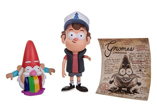 "Gravity Falls - 3"" Figure Assortment (Dipper with Barfing Gnome)"
