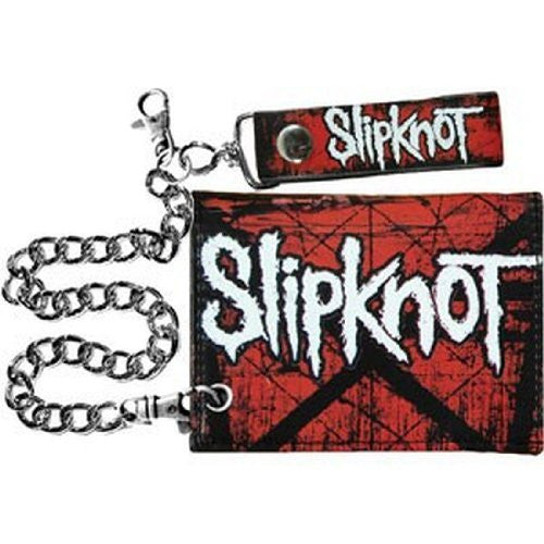 Slipknot Scratched Group Chain Wallet