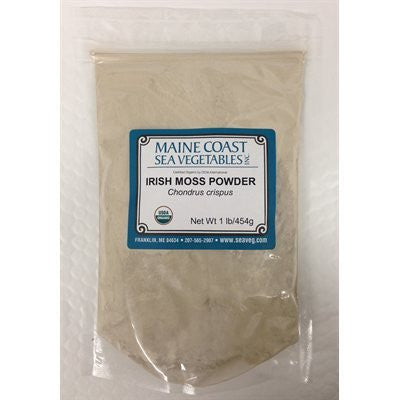 Organic Raw Irish Moss Powder - 1 Lb