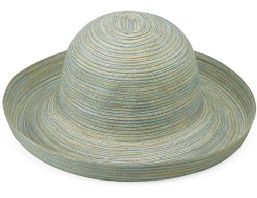 Wallaroo Hat Company Women's Sydney Woven Poly Braid Hat (Seafoam / One Size)