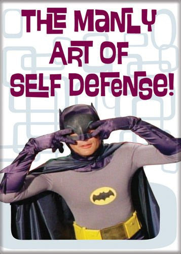 Batman TV Manly Art of Self Defense - PHOTO MAGNET 2 1/2 in. x 3 1/2 in.