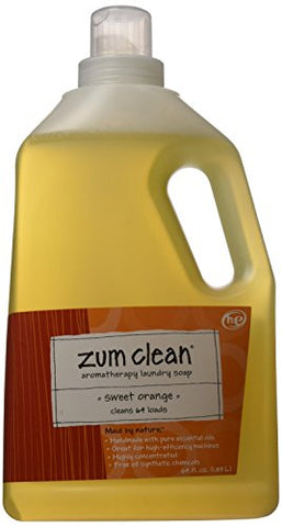 Zum Clean Laundry Soap - Sweet Orange, 64.0 oz