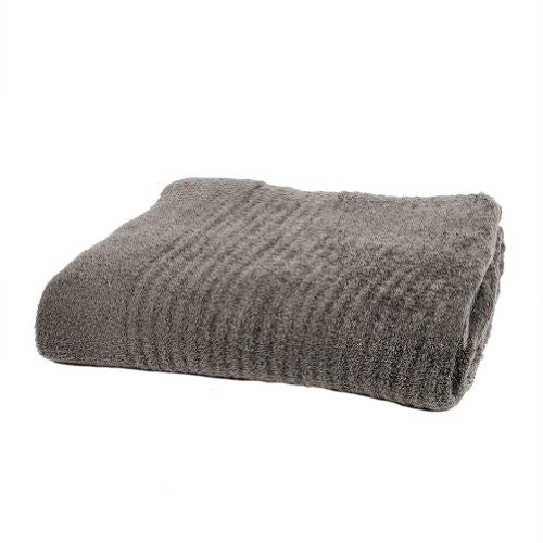 Bamboo Chic Lite Ribbed Throw Cocoa 54x72
