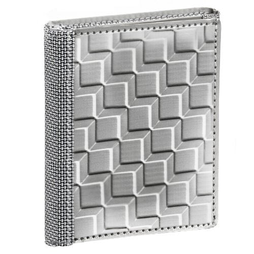 Trifold - Texture: 3D Box - Silver