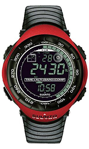 Suunto Vector Wristop Computer with Compass, Altimeter & Barometer,One Size,Red