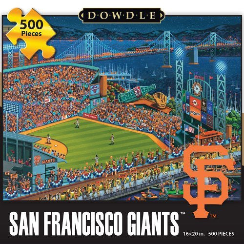 San Francisco Giants 500 Pieces Box Puzzles, 16x20 inch