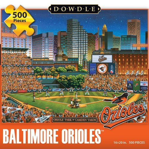 Baltimore Orioles 500 Pieces Box Puzzles, 16x20 inch