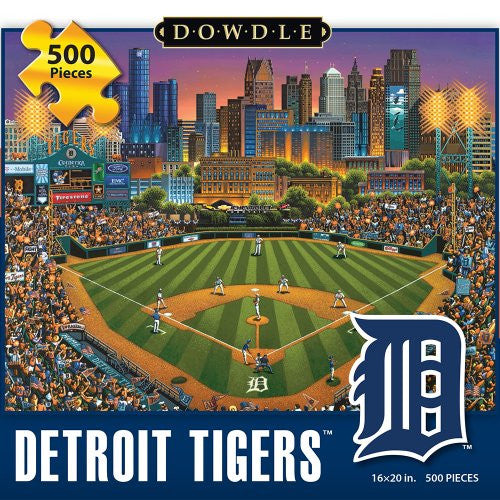 Detroit Tigers 500 Pieces Box Puzzles, 16x20 inch