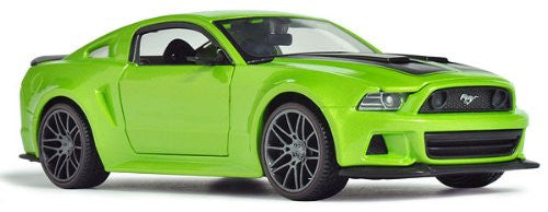Maisto - Ford Mustang Street Racer Hard Top (2014, 1/24 scale diecast model car, Green)