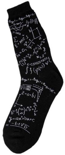 Women's Novelty Socks - Genius