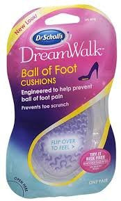 Only 1 Dr. Scholl's DreamWalk Ball of Foot Cushion, 1 pair